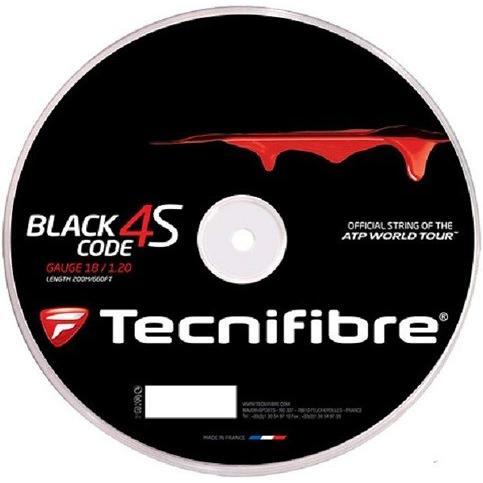 【2018最新作】 Tecnifibre(テクニファイバー) ポリエステル ブラックコード4S 200Mロール 硬式テニス 200Mロール ポリエステル 04RBC4S/1.30mm ガット 04RBC4S/1.30mm [並行輸入品], 季の香(きのか):74d6c0e2 --- airmodconsu.dominiotemporario.com