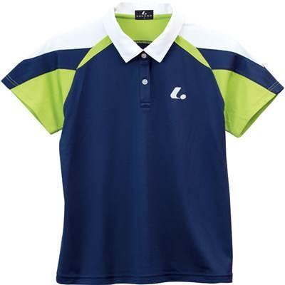 ルーセント(lucent) レディース ゲームシャツ(ネイビー) XLP-4956 M