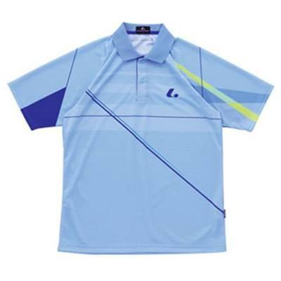 ルーセント ゲームシャツ XLP8077 ライトブルー 140