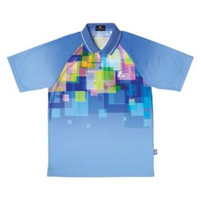 ルーセント ゲームシャツ XLP8127 ライトブルー S