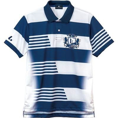 ルーセント ユニセックス ゲームシャツ ネイビー XLP8306 M