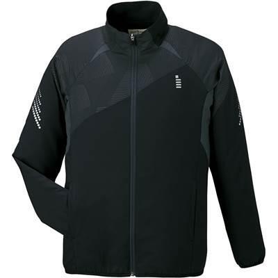 ゴーセン(GOSEN) ソフトテニス バドミントン ライトウィンドジャケット 男女兼用 Y1600 ブラック(39) LL