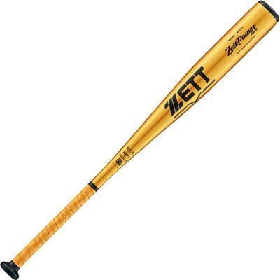 【上品】 ZETT(ゼット) 野球 硬式 バット 金属製 ゼットパワーセカンド 83cm ゴールド(8200) BAT1853A, スポーツ e-YAN ba31a3e2