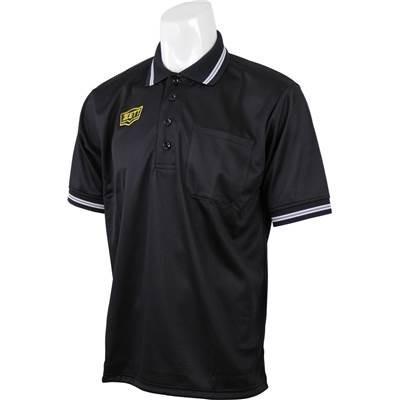 ZETT(ゼット) 野球 審判用 ボーイズリーグ公認 半袖アンパイヤポロシャツ ブラック(1900) BPU50BL L