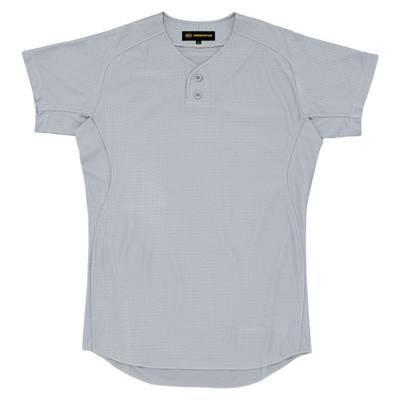 ZETT(ゼット) プロステイタスユニフォームシャツ(プルオーバースタイル) BU515PS Yシルバー(1300Y) L