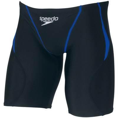 Speedo(スピード) メンズ 競泳水着 スパッツ フレックスシグマ ジャマー SD70C53F ブラック×ロイヤルブルー M