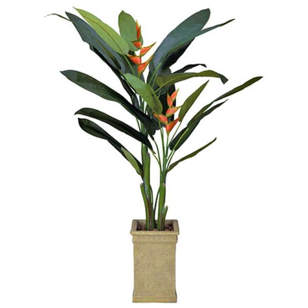 光触媒 観葉植物(人工観葉植物)光の楽園 ヘリコニア 2.0m