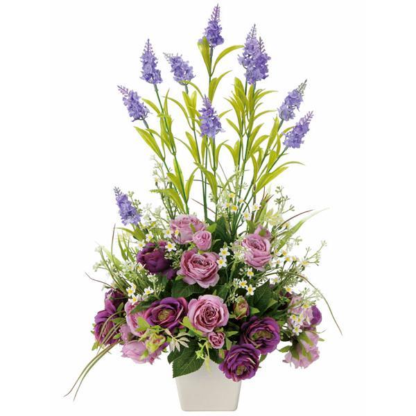 母の日 花 ギフト、アートフラワー(光触媒造花) ソフィアラベンダー|montbrette