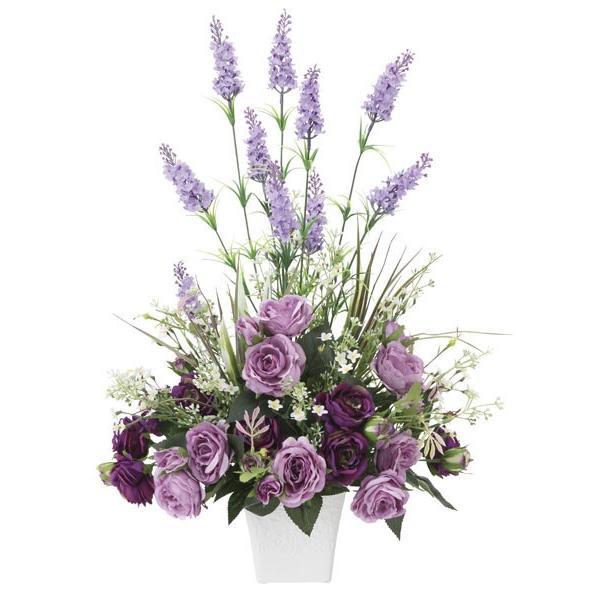 母の日 花 ギフト、アートフラワー(光触媒造花) ソフィアラベンダー|montbrette|04