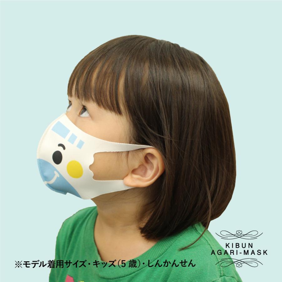 【送料無料・ポイント10倍】選べるマスク3枚セット 乗り物 車 子供 オリジナルプリント 洗える かわいい プレゼント 小顔 mony 05