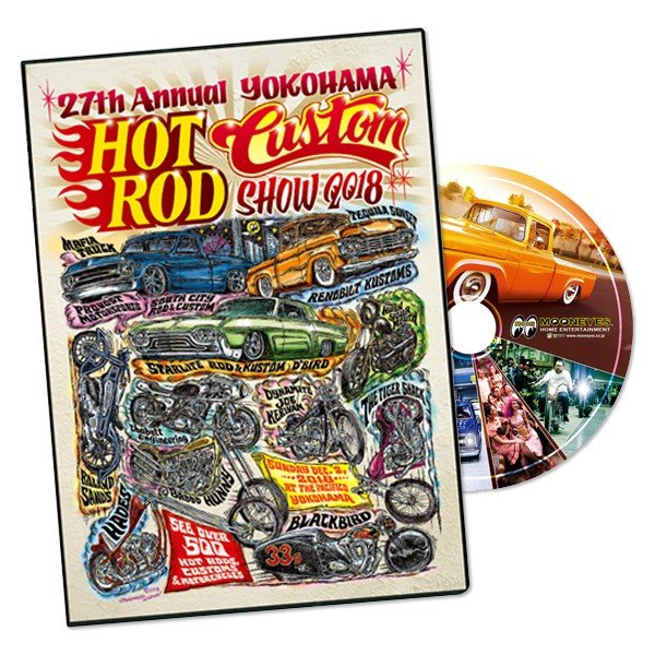 HOT ROD CUSTOM SHOW 2018 DVD
