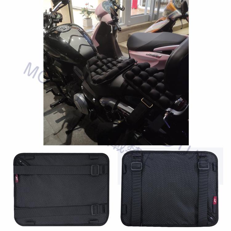バイクシート クッション リアシート用 3Dエアクッション JFT 正規販売店 オートバイシートクッション 汎用 ハーレー 減圧クッション シートパッド エアザブ moonriver 12