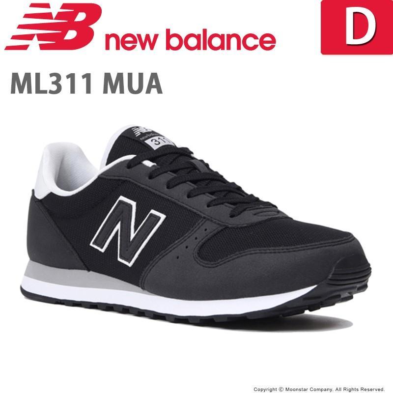 a26d558924d8a ニューバランス newbalance メンズ/レディース スニーカー NB ML311 MUA D ブラック|moonstar ...