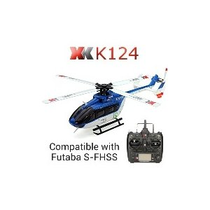 XK K124 6CHブラシレスEC145 3D6GシステムRCヘリコプターRTF|mophie|02
