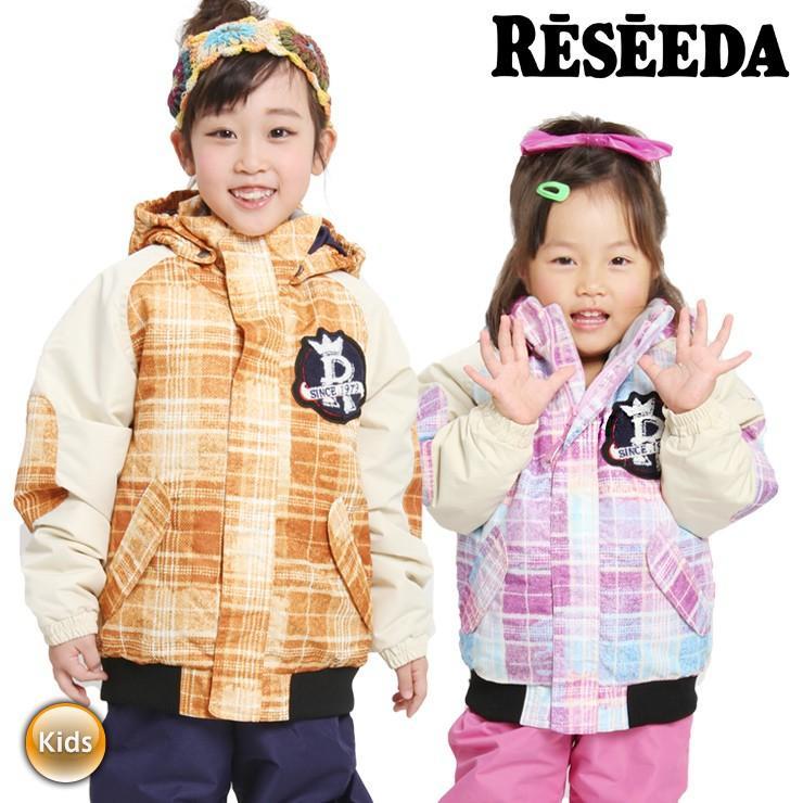 18-19 RESEEDA レセーダ スノーボードウェア スキーウェア 上下セット TODDLER SUIT RES51003P ジャケット パンツ キッズ ジュニア 子供【モアスノー】