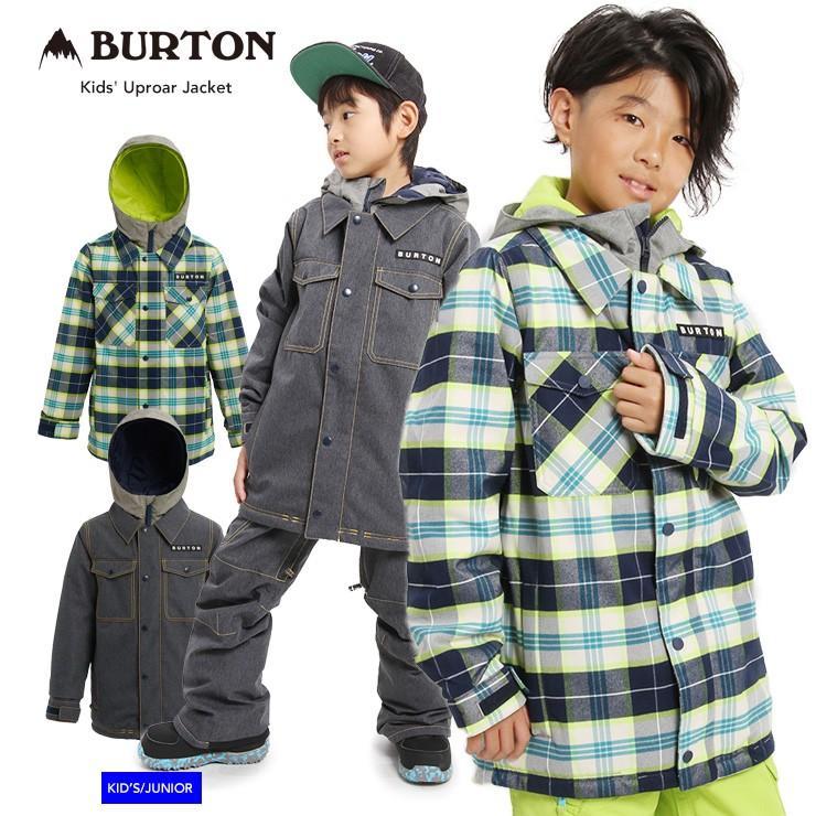19-20 2020 BURTON バートン キッズ ウェア Kids' Uproar Jacket アップロアー ジャケット スノーウェア スノーボード スキー 子ども ボーイズ【モアスノー】