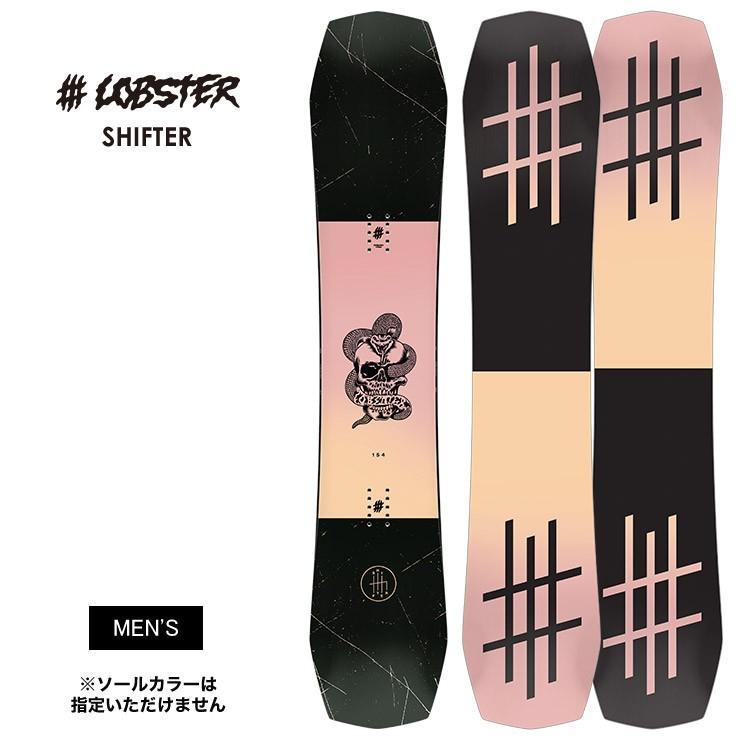代引き人気 LOBSTER ロブスター SHIFTER SHIFTER 板 ロブスター シフター 2020 スノーボード 板, キノモトチョウ:17882670 --- airmodconsu.dominiotemporario.com