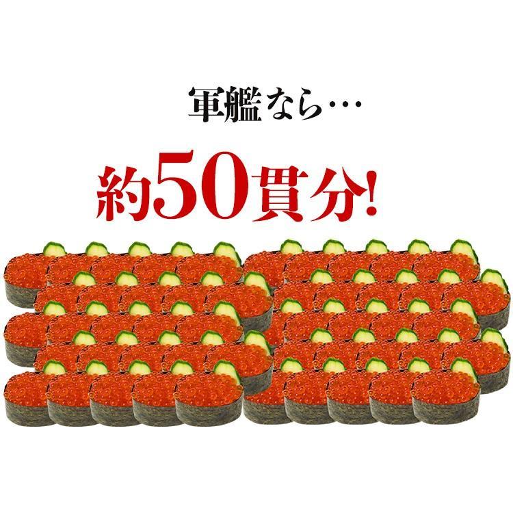 北海道加工 鱒 イクラ 醤油漬け 500g いくら 海鮮 丼 軍艦 手巻き 寿司 ちらし 送料無料 お中元 お取り寄せグルメ|morigen|09