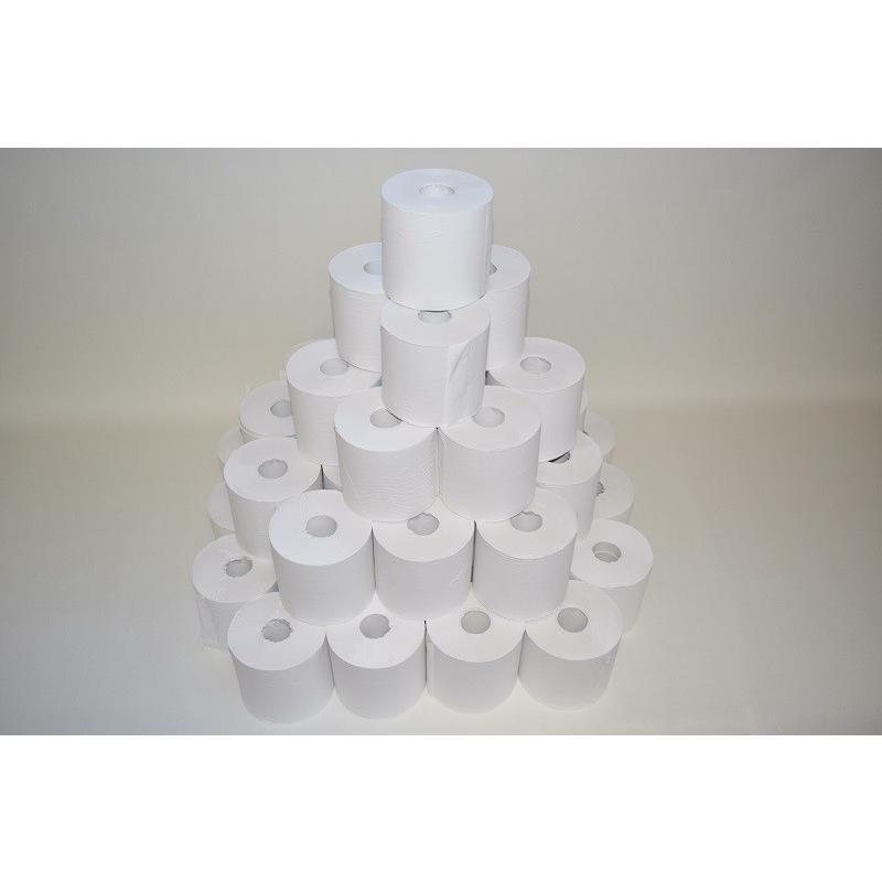 送料無料/わけあり 芯なしトイレットペーパーシングル150〜170m巻 巾108mm(業務用)x48ロール|morika|02