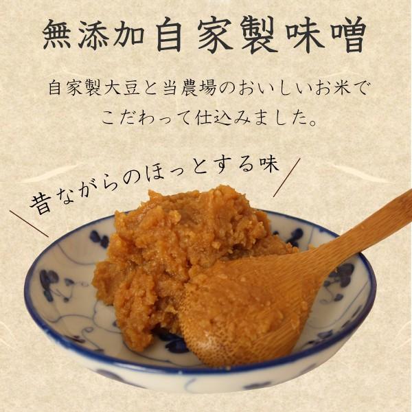 無添加・手作り おかんの味噌 1袋 (500g) 田舎味噌 安心安全 国産 まろやか morikawa-noujou 02