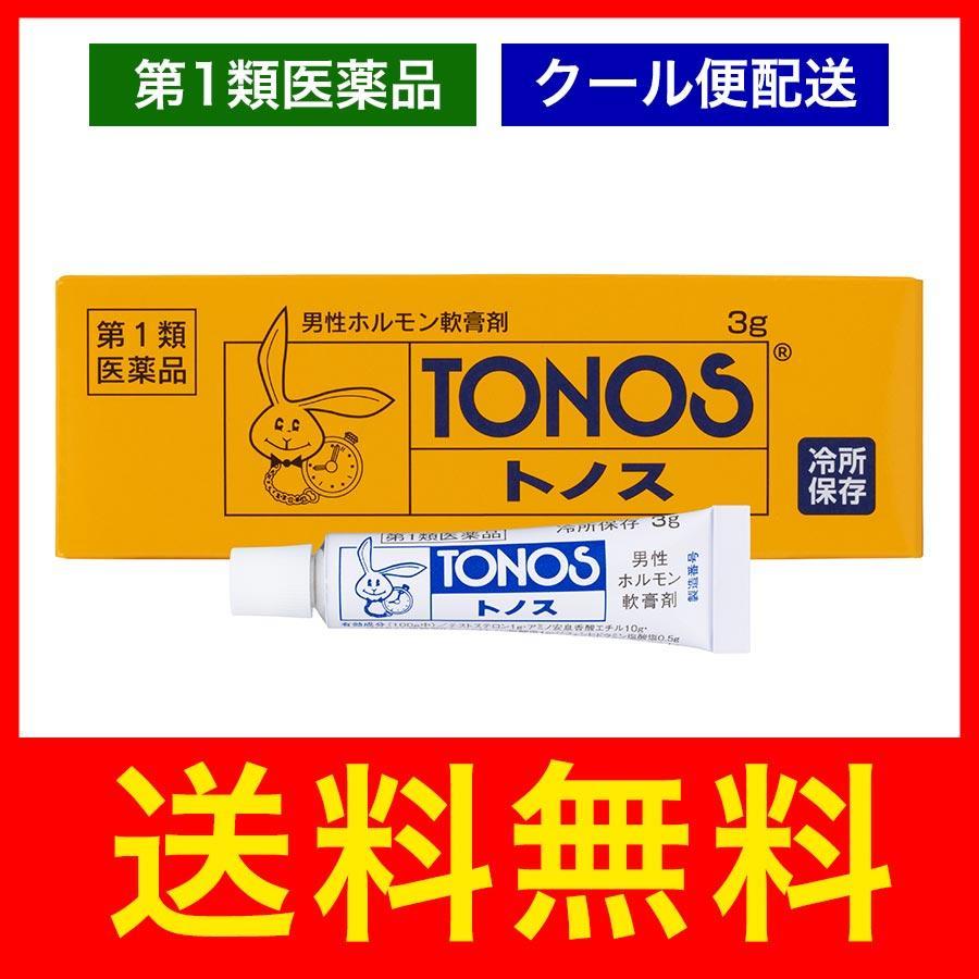 トノス 5g 毎週更新 早漏 勃起力 塗り薬 性機能改善 軟膏剤 第1類医薬品 クール便配送 使い勝手の良い