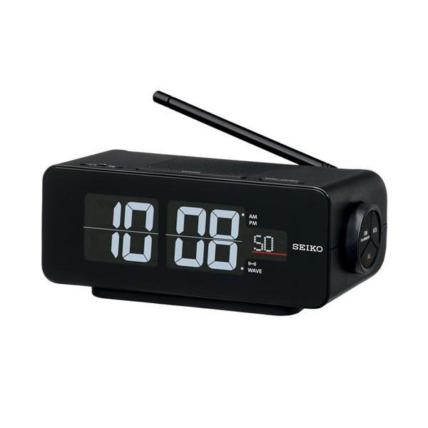 セイコー SEIKO AC100V 交流式 デジタル 電波時計 目覚まし時計 DL213K 名入れ対応、有料 取り寄せ品