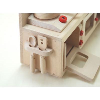 木 おもちゃ ままごと キッチン だいわ ミニキッチンセット|morinokobito|05