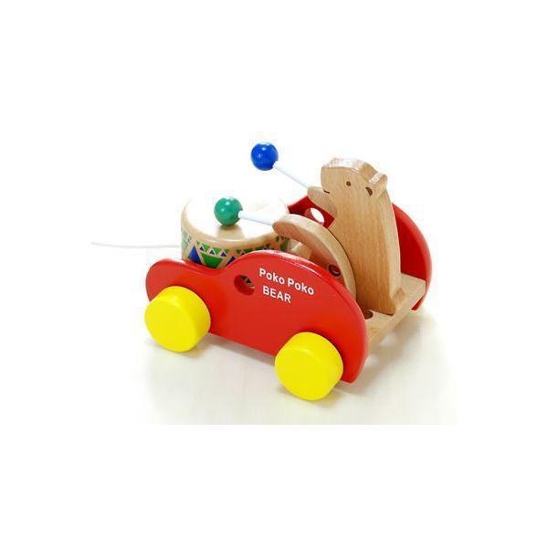 木 おもちゃ だいわ ポコポコくまさん|morinokobito|02