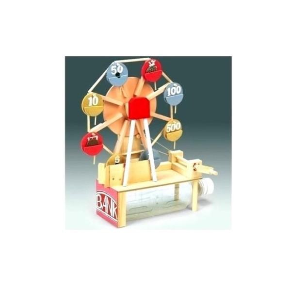 木工工作キット 加賀谷木材 即日出荷 観覧車貯金箱 2100473 お求めやすく価格改定