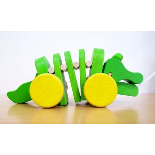 木 おもちゃ Plantoys プラントイ ダンシングアリゲーター 1057|morinokobito|02