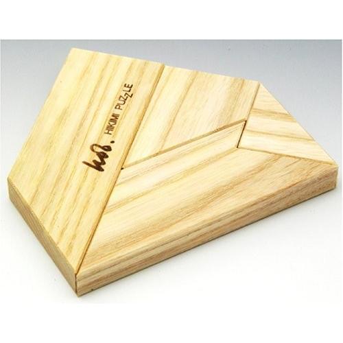 匹見パズル 送料無料 激安 お買い得 キ゛フト The T 贈呈 日本製木製パズル