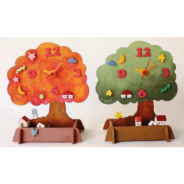 アイスタジオ 木の風景時計 木工工作キット A94 人気 開店記念セール