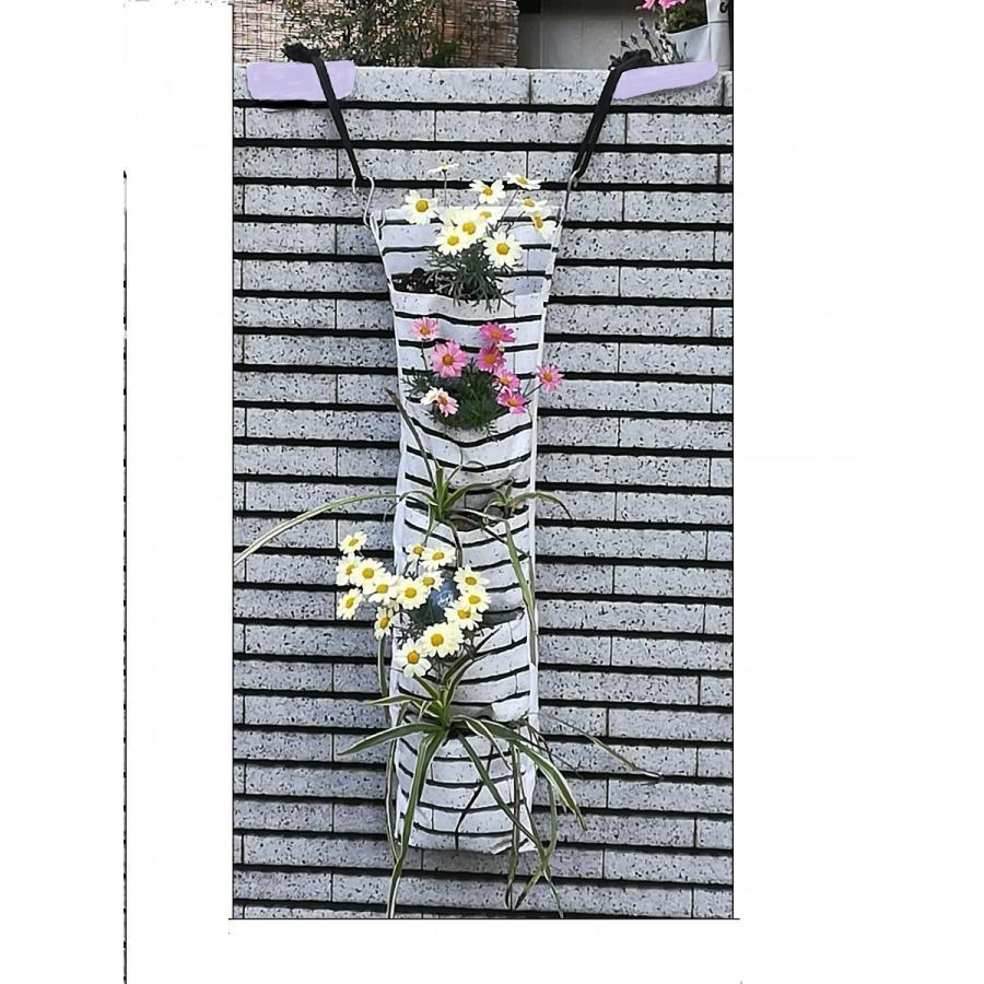 森の音モダチ/だんだん畑L5段1列(単色)/吊り鉢、植木鉢、プランター/日本製/(特許商品)|morinootomodachi|03
