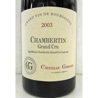 値頃 カミーユ・ジルー シャンベルタン 2003 Camille Giroud Giroud, ヤマクラ:fc839b0b --- levelprosales.com