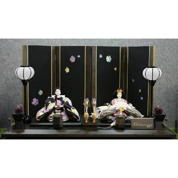 アート&デザイン後藤由香子作 夢さくら 創作雛人形平飾り