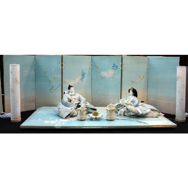 アート&デザイン後藤由香子作 愛のハーモニー 創作雛人形平飾り