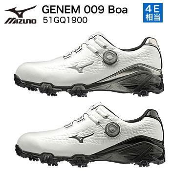 ミズノ MIZUNO ジェネム GENEM 009 Boa 4E ゴルフシューズ 51GQ1900 2019年モデル