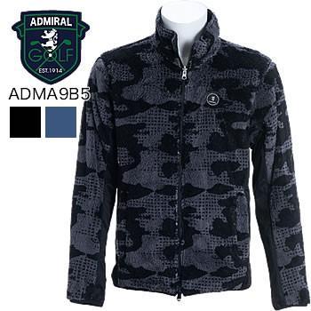 アドミラルゴルフ Admiral Golf カモフリース 長袖リバーシブルジャケット ADMA9A2 2019年秋冬モデル