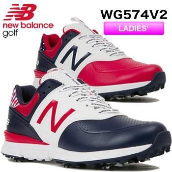 ニューバランス new balance レディース ソフトスパイク ゴルフシューズ WG574 V2 2019年日本正規品