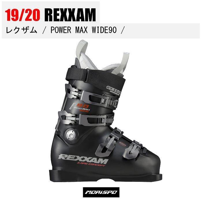 本店は 2020 REXXAM レクザム POWER MAX WIDE 90 CX-SS18 パワーマックス ワイド X7KF-299 BK 19-20 スキー ブーツ 靴 基礎 デモ オールラウンド 幅広 中級, マルキューの珍味 cdc2d1fb
