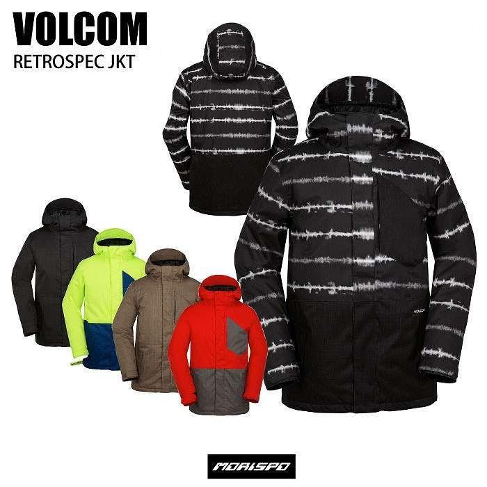 VOLCOM ボルコム RETROSPEC JACKET G0651711 16-17 [モリスポ] スノーボードウエア メンズジャケット スノボ