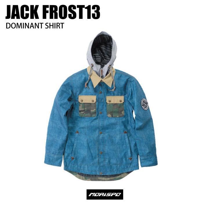 JACKFROST13 ジャックフロストワンスリー DOMINANT SHIRT JACKET JFJ99501A 16-17 [モリスポ] スノーボードウエア メンズジャケット スノボ