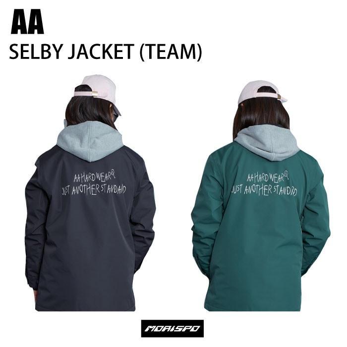 AA ダブルエー 72119312 レディース セルビージャケット 19-20 [モリスポ] ボードウェア コーチジャケット TEAM スノボ ジャケット