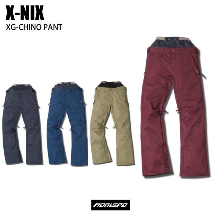 X-NIX エクスニクス XG-CHINO PANT XN682OB52 16-17 [モリスポ] スノーボードウエア レディスパンツ スノボ