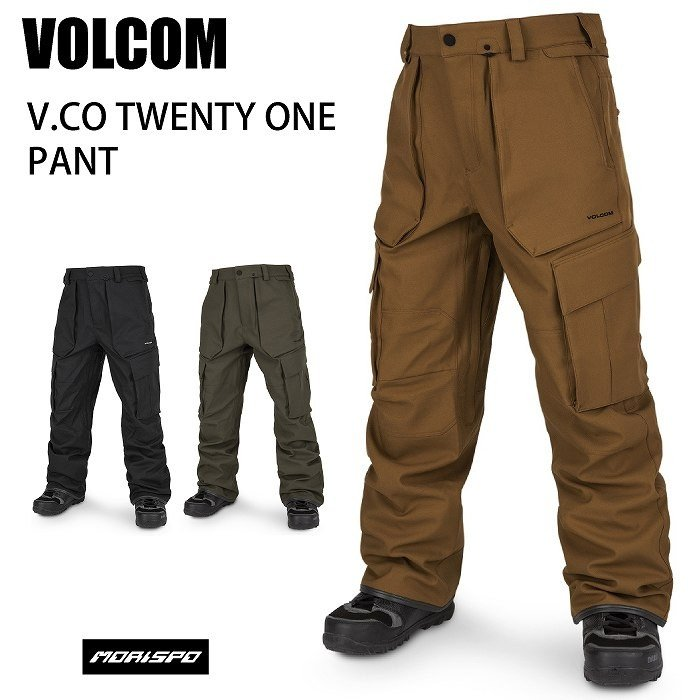 [宅送] VOLCOM ボルコム G1352011 V.CO TWENTY ONE PANT 19-20 ボードウェア ボード メンズ パンツ スノボ 2020モデル, きものの美 ゆたかや 0b7e4008
