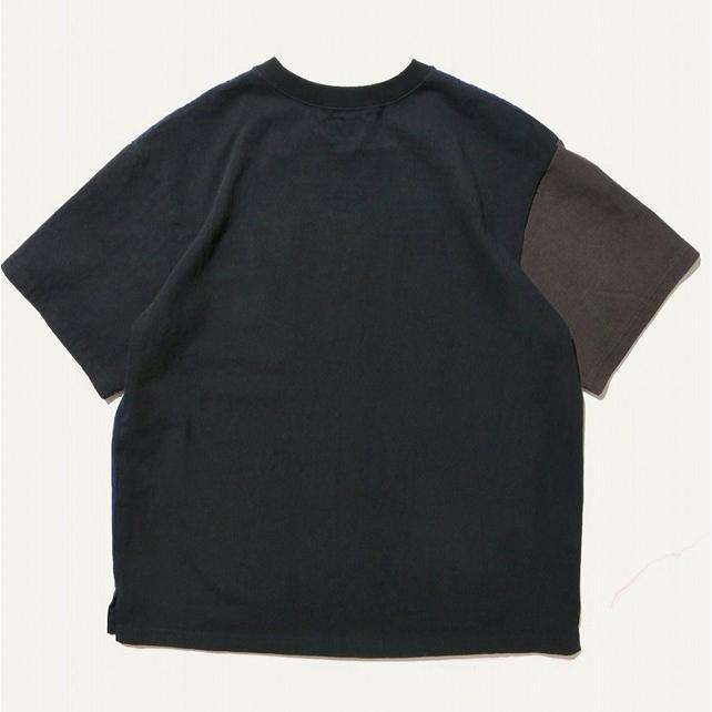 COLIMBO/コリンボ LUNA-PARK T-SHIRT D.NAVY×BLACK×CHARCOAL morleyclothing 02