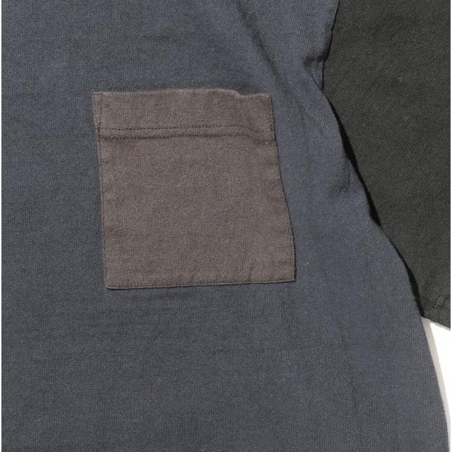 COLIMBO/コリンボ LUNA-PARK T-SHIRT D.NAVY×BLACK×CHARCOAL morleyclothing 03