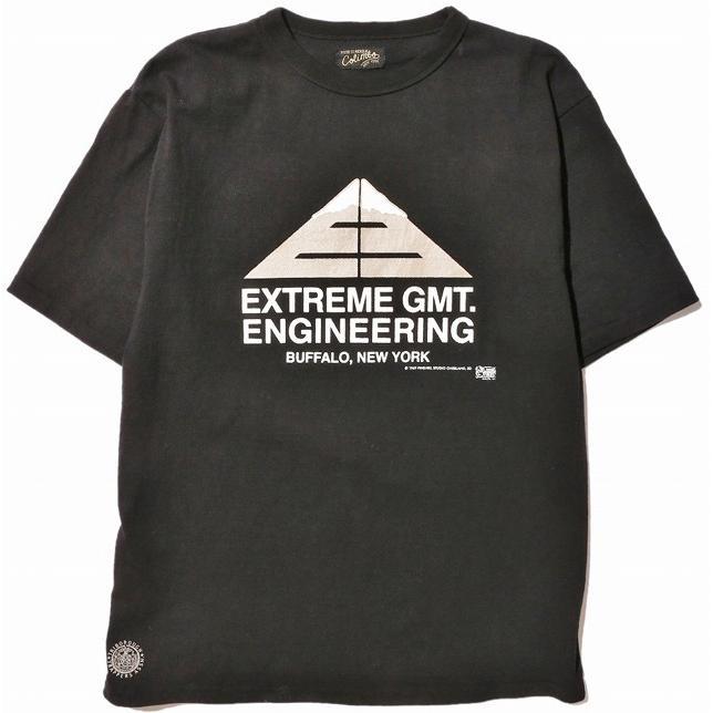 "COLIMBO/コリンボ PRINTED T-SHIRT ""Extreme GMT.Engineering"" BLACK morleyclothing"