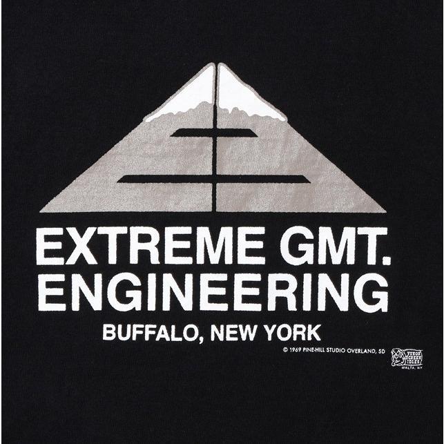 "COLIMBO/コリンボ PRINTED T-SHIRT ""Extreme GMT.Engineering"" BLACK morleyclothing 04"