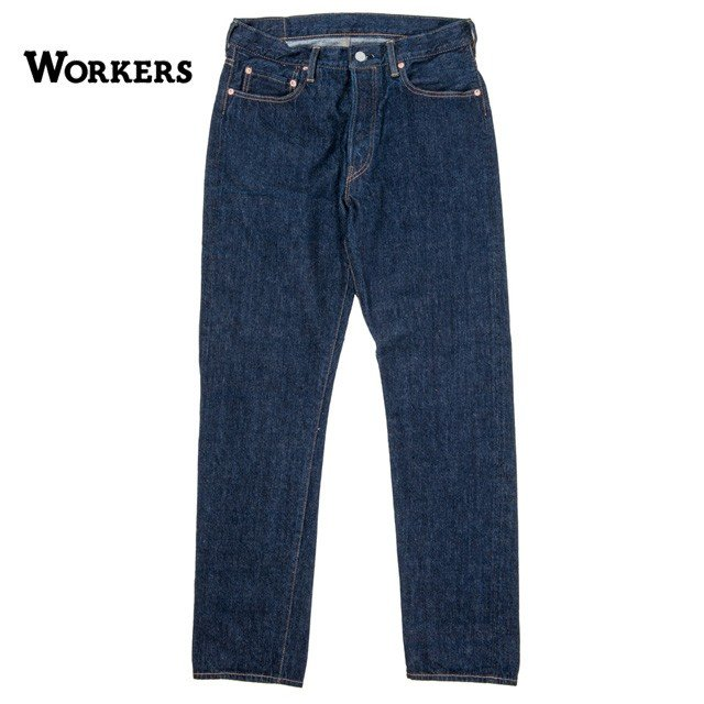 【送料無料】メンズ  WORKERS/ワーカーズ LOT802 スリムテーパード|morleyclothing